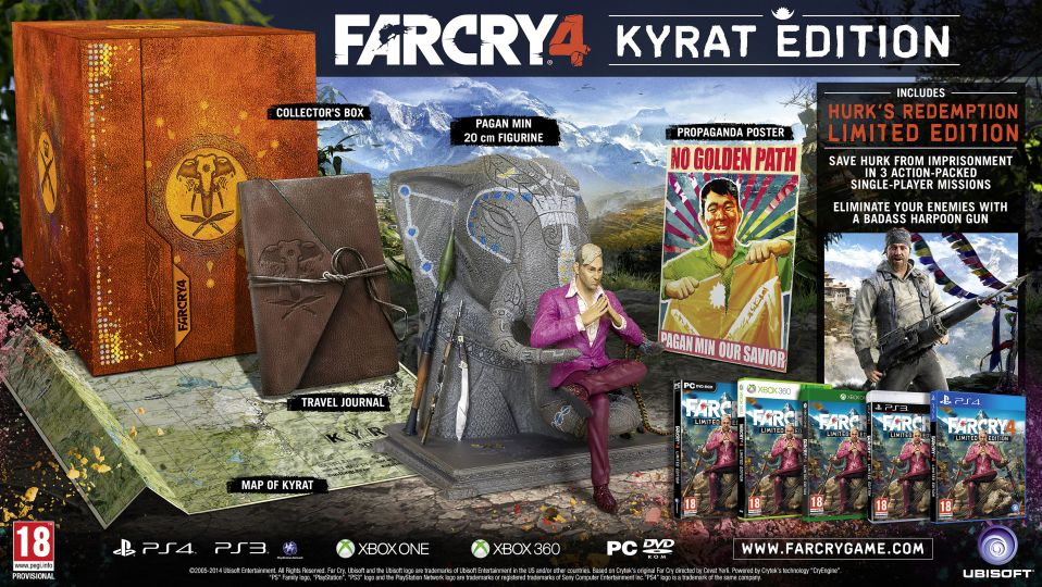 Far Cry 4 Kyrat Edice
